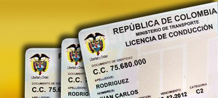 licencia de conduccion pase