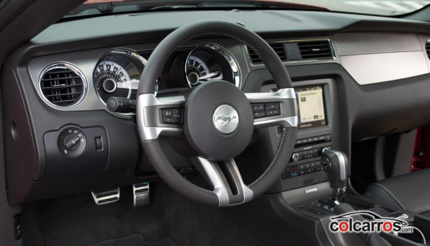 Interior mustang gt 2013