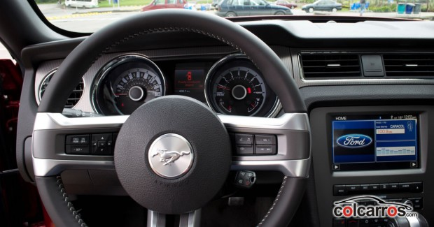 Interior mustang gt premium 2013